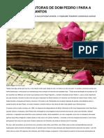 As Cartas Sedutoras de Dom Pedro i Para a Marquesa de Santos
