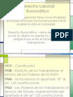 derecho laboral burocratico.ppt