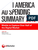 Latin America Ad Spending Summary 2018 EMarketer