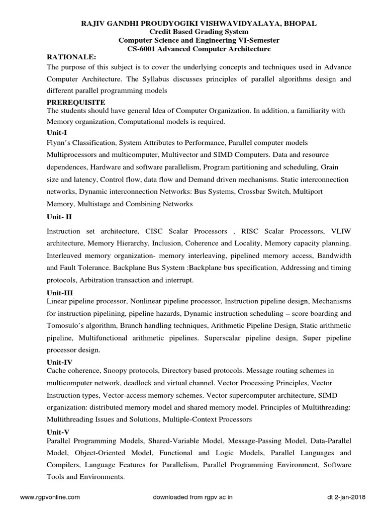 rgpv-syllabus-cbgs-cs-6-sem-all-subjects pdf | Internet Of