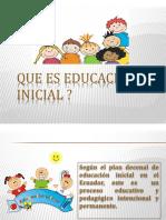 Que es educación  inicial exposicion.pptx