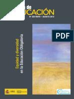 Equidad e Igualdad en la educación en la educación en México..pdf