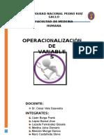 02. Operacionalización de Variables