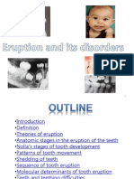 219980706 Tooth Eruption and Its Disorders Pediatric Dentistry