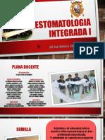 312423333 Presentacion de La Asignatura Estomatologia Integrada i