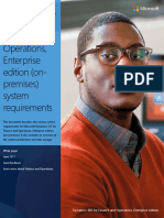 Dynamics 365 for Finance and Operations, Enterprise Edition (on-premises) System Requirements