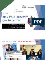 ERM-2018. Transparencia en Gobiernos Locales y Regionales