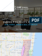 Old Coral Ridge - Market Activity Report - 2018