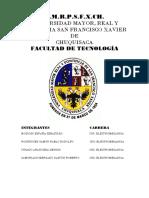 Análisis Estadístico de Propuesta de Teleférico en Sucre