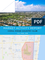 Coral Ridge Country Club - Market Activity Report - 2018