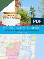 Victoria Park + Colee Hammock - Market Activity Report - 2018