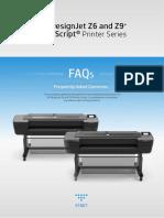 FAQ HP DesignJet Z6 and Z9+