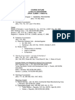 Course Outline in Succession (Part 1)