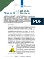 Product Factsheet Almond Oil Germany Vegetable Oils Oilseeds 2014