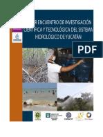 Primer Encuentro Sis Hidrologico de Yucatán
