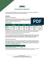 Investor Update Q3 FY19