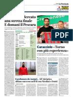 La Provincia Di Cremona 19-01-2019 - Cremonese