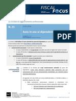 Fiscal News n. 23 Del 23.01.2014 Auto in Uso Ai Dipendenti