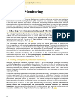 Guidance note on Protection Monitoring - Handbook for the Protection of IDPs