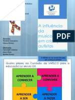 A Influência Da Musicoterapia Em Crianças Autistas