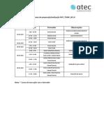 PAF Cronograma