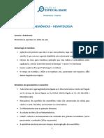mnemonicas hematologia