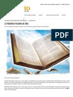 LA PODEROSA PALABRA de DIOS _ Impacto Evangelístico _ Noticias Cristianas