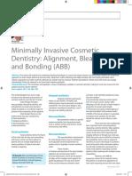 Minimally invasive cosmetic dentistry .pdf