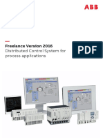 3BDD013090 en L Freelance Version 2016 - Distributed Control System for Process Applications