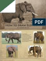 how to draw elephants