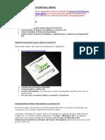 Tutorial SuperCard DSone Sdhc