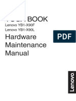 Manual Hardware Lenovo Yoga Book