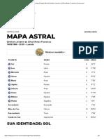 Mapa Astral_ Mapa Mini de Denilson
