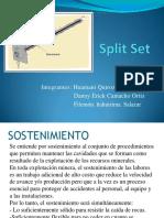 Pernos Split Set