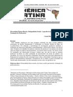 Diversidade Étnico Racial e Desigualdade Social a Questão Do Preconceito Na Formação de Professores Carmi Machado Cavalcante