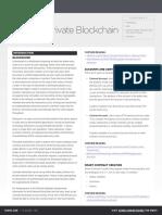 Blockchain Refcard