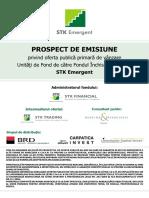 Prospect de Emisiune STK Emergent