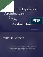Kernel Presentation