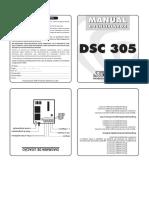 Manual Discadora DSC305