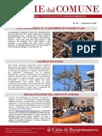 Notizie Dal Comune di Borgomanero del 18 Gennaio 2019