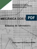 Livro Ensaios de Laboratório Eesc