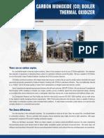 Carbon Monoxide Boiler