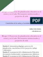 proceso-planificacion-educativa-centro-y-aula-documentos-institucionales-y-proyectos-aula.ppt