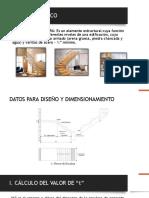 diseño de escaleras de concreto armado