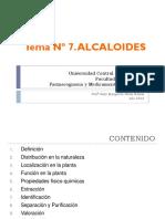 Bioquimica alcaloides