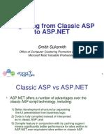 Migrating ASP to Aspx