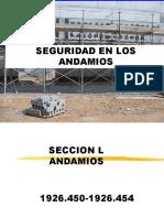 Seguridad en Andamios multidireccionales
