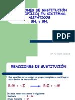 Clase3-Reacciones de nucleofilica