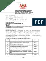 ISRA Syllabus MAT 1401