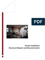 Shelter Cluster Structural Repairs and Reconstruction Guidelines